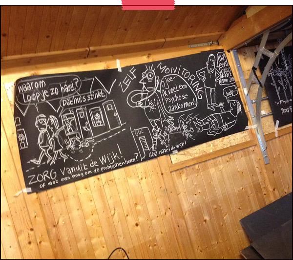 Femke van Heerikhuizen   Tekenaar aan Tafel   tekent live   SamenBeter, Sexyland